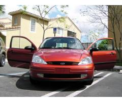 Autos Usados Doral, Vendo Ford Focus 2000