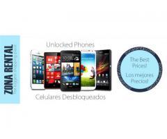 Venta de celulares en Miami desbloqueados - zonarental.com desde $39.99