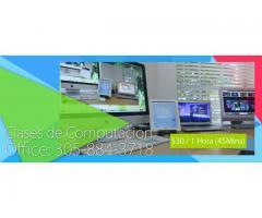 Curso de Internet, Windows, Word, Excel en Miami