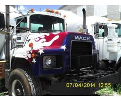 MACK CONCRETE MIXER TRUCK FOR SALE - DM600